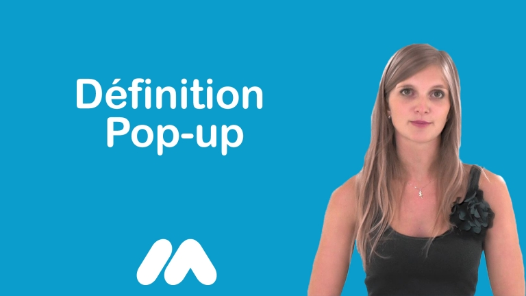 Définition Pop-up