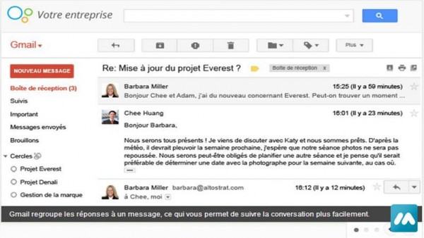 Formation – Gmail