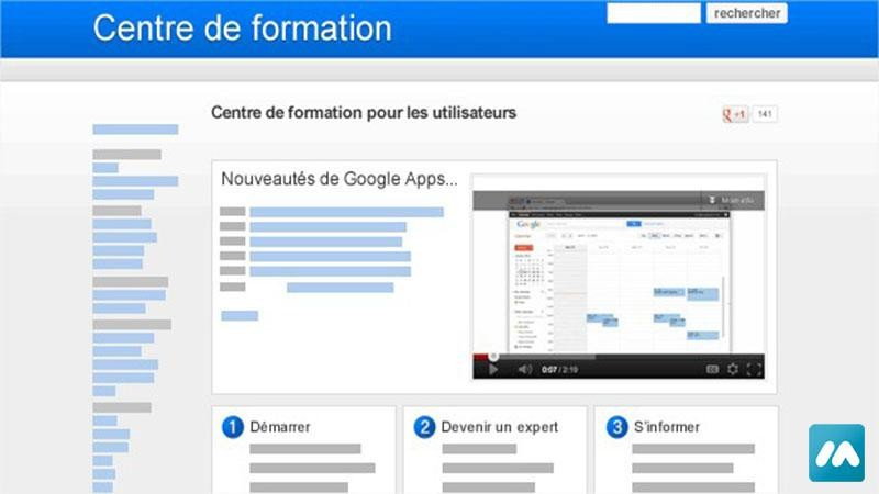Formation – Google Site