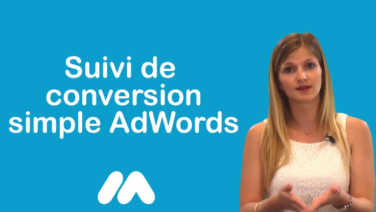 Suivi de conversion simple AdWords