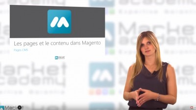 Magento – Pages CMS – Tuto Magento – Market Academy