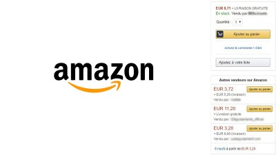 La « Buy Box » d'Amazon représente 90% des conversions