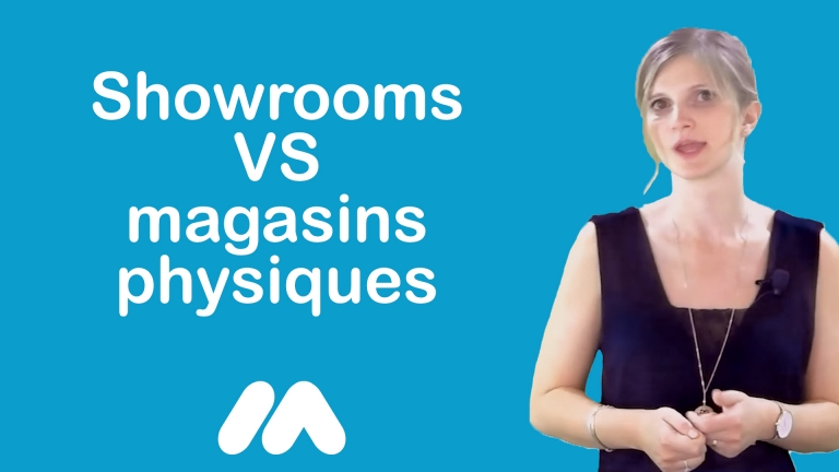 Showrooms VS magasins physiques