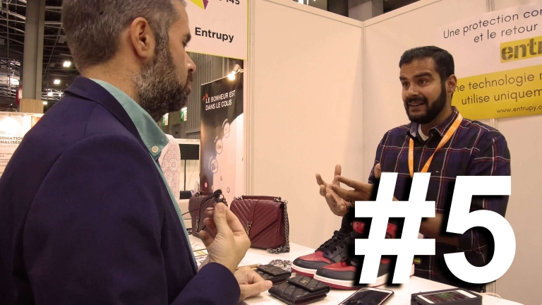 ParisRetailWeek : Episode 5 : Reward Protocol & Entrupy