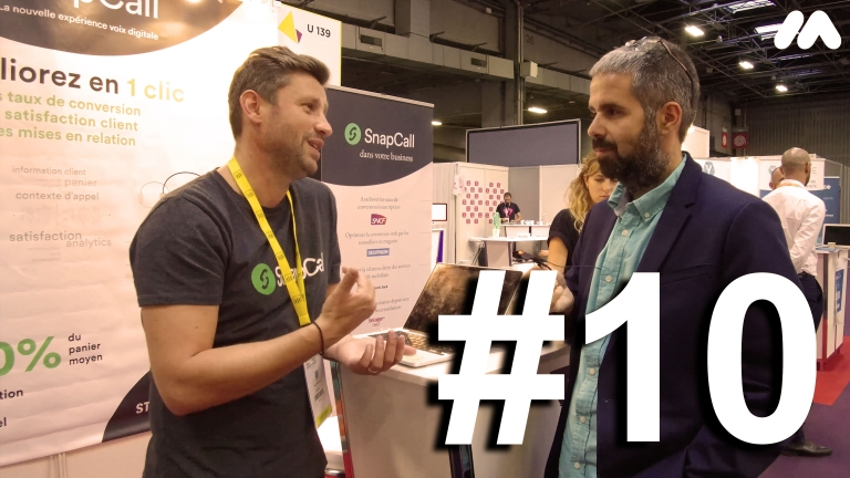 ParisRetailWeek : Episode 10 : SnapCall & Mr Suricate