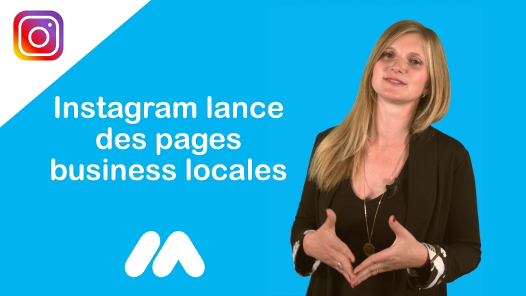 Instagram lance des pages business locales